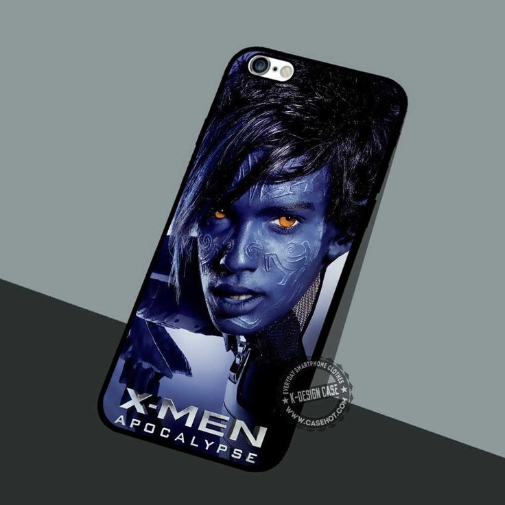 Kurt Wagner Nightcrawler - iPhone 7 6 5 SE Cases & Covers #movie #superheroes