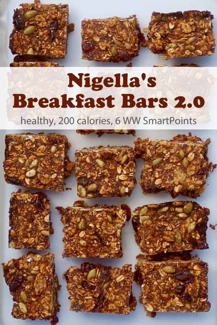 Nigella Lawson Breakfast Bars 2 0 Recipe Breakfast Bars Healthy Breakfast Bars Food