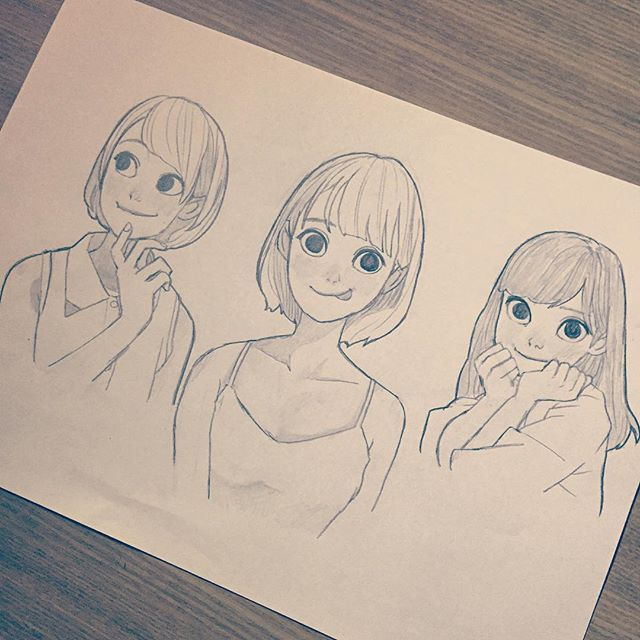 WEBSTA @ ryooo.m5 - 07272016#art #artwork #artworks #draw #drawing #drawings #illust #illustration #sketch #pencil #instagood…