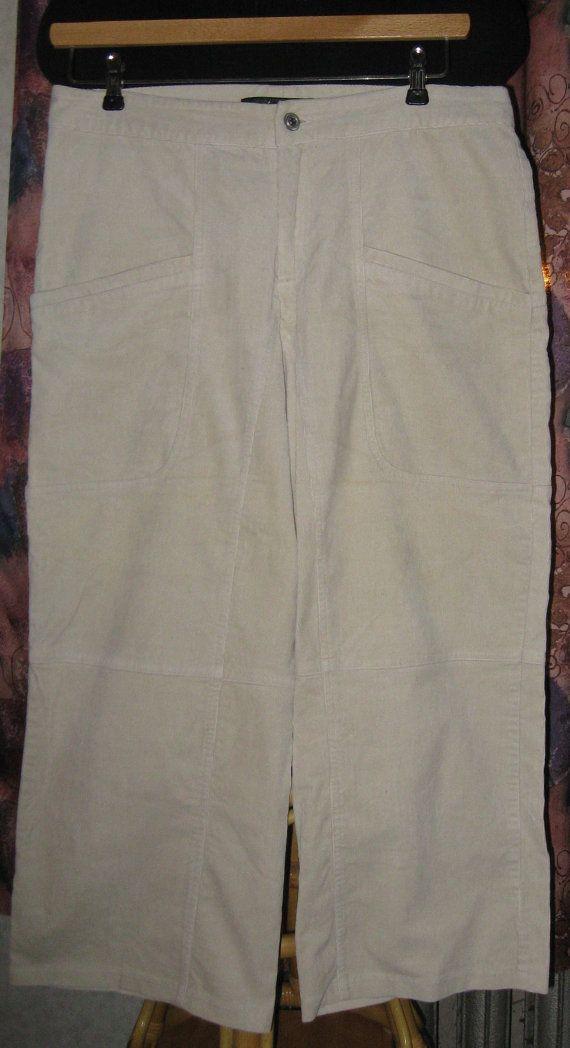 Винтажные укороченные брюки  капри из вельвета. от VIRTTARHAR
