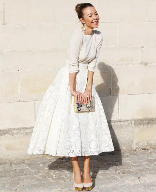 Ulyana Sergeenko- Street Style  LOVE IT!