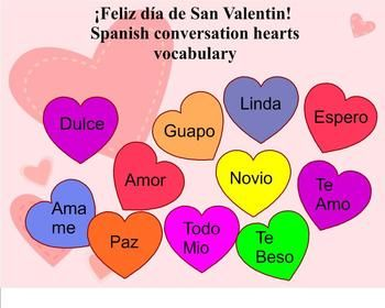 spanish valentines day card phrases