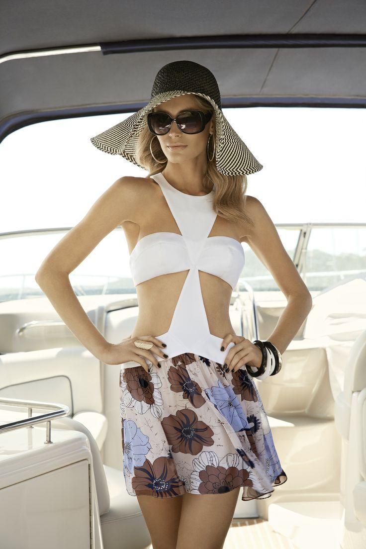 Skye Harte - Lana Retro Mini Dress