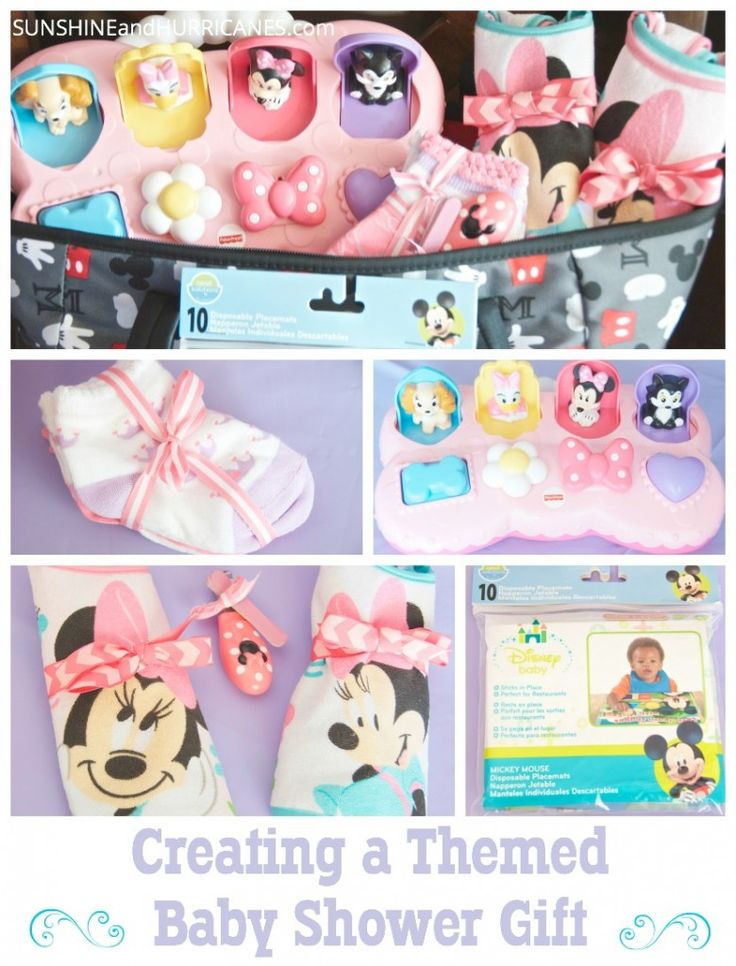 Baby Shower Return Gifts Walmart ~ Creating a themed baby shower gift showers
