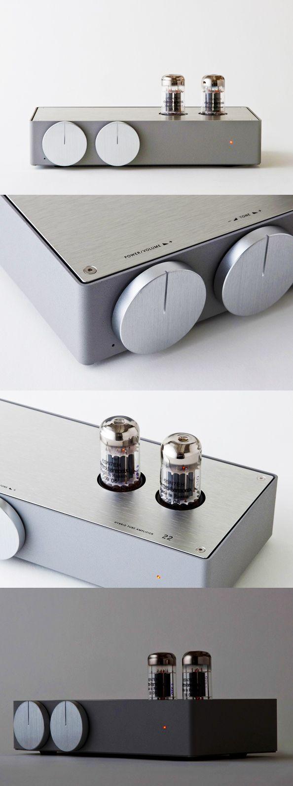 Hybrid Tube Amplifier by Koichi Futatsumata