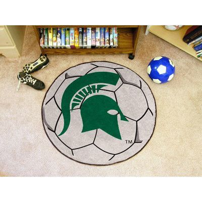 FANMATS NCAA Michigan State University Soccer Ball