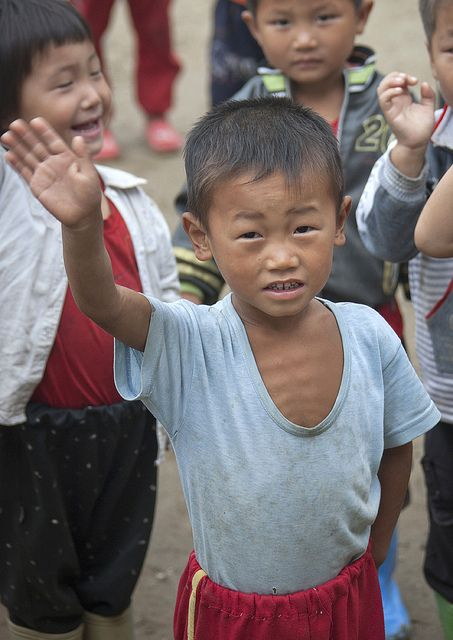 Skinny kid in Hamhung - North Korea | FACES of the World ...