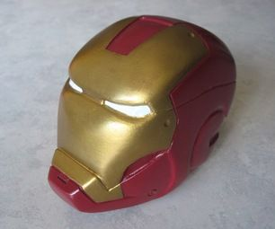 melting iron man mask - photo #20