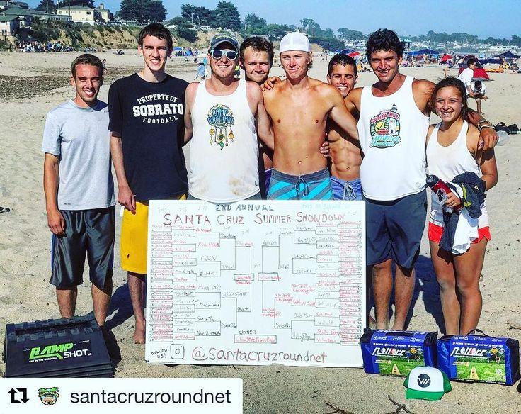 #Repost @santacruzroundnet (@get_repost)  Open Division winners from our 2nd Annual Santa Cruz Summer Showdown presented by @savageultimate! 1st Place (Center) - Chico State Tennis Club: Skyler Boles & Billy Buchhauser. 2nd Place (Right) - No Shirt & No Height: Preston Bies & Jordi Vigna. 3rd Place (Left) - The Veterans: Sam Buckman & Jason Rhoads. #SpikeballPro #Spikeball #SantaCruzRoundnet #SantaCruzSpikeball #Roundnet #JoinTheMovement #SantaCruzSummerShowdown #Summer #Sports #Tournament…