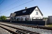 Oude treinstation uit Berkel en Rodenrijs (route Rotterdam CS - Den Haag CS).