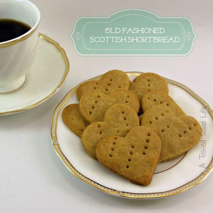 Scottish butter cookie recipe