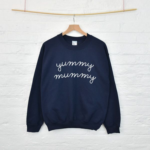 Yummy mummy women's sweatshirt jumper