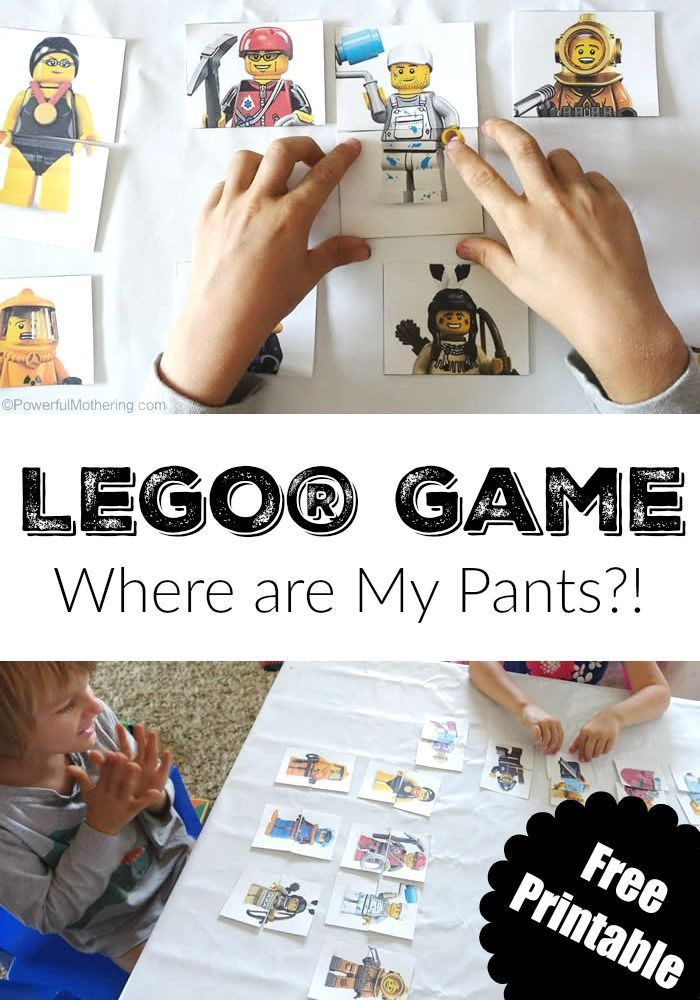 LEGO Game Where are My Pants? - Powerful Mothering
