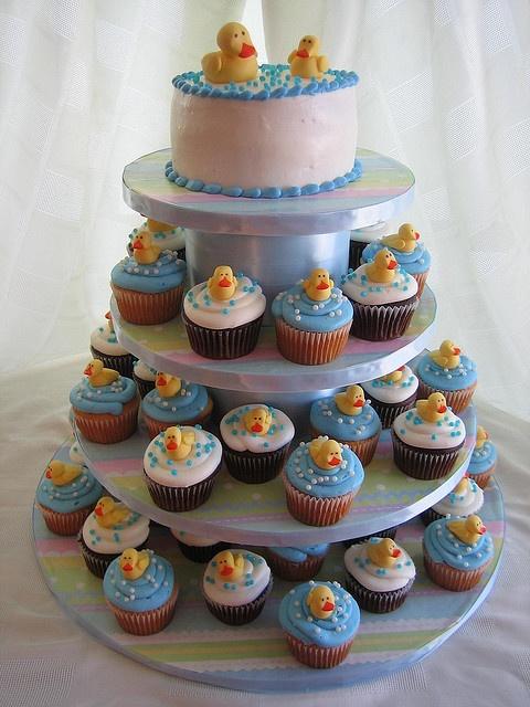Baby shower cake/cupcakes idea