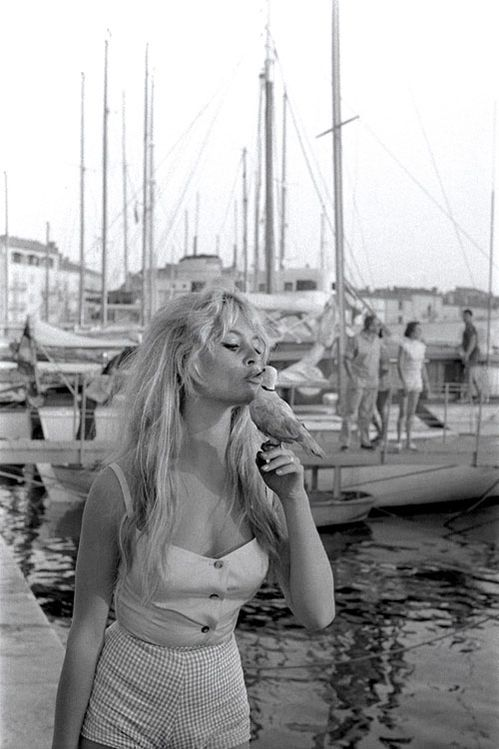 Vintage photograph for the weekend: Brigitte Bardot in 1958 | Vogue Paris