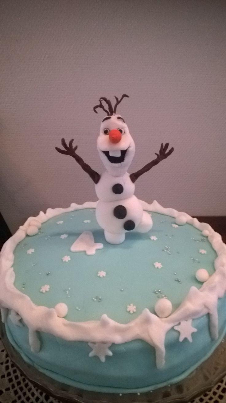 Olaf lumiukkokakku