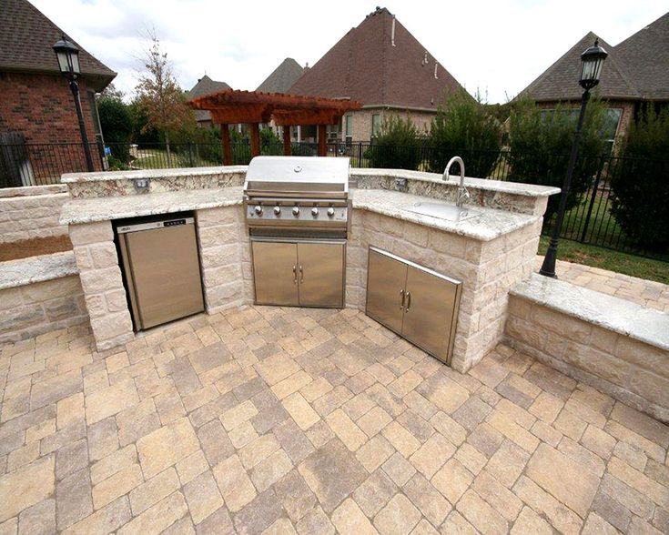 Outdoor Kitchen And Barbeque Designs