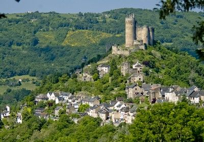#Najac : une #forteresse dominant l'#Aveyron                                                                                                                                                                                 More