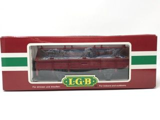 LEHMANN-GROSS-BAHN LGB 45110 GONDOLA CAR WITH BOX.