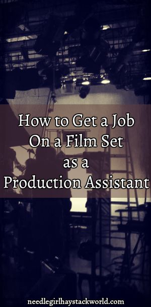 It ain't easy - but here are some tips on how to get a job as a production assistant. #setlife #filmmaking #production