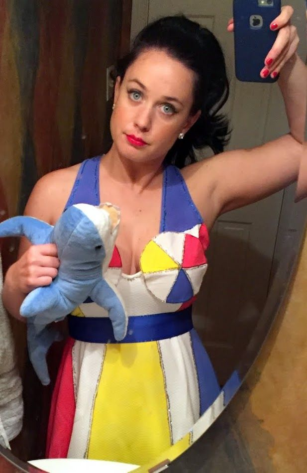 How I made my DIY Katy Perry costume this year for Halloween!                                                                                                                                                                                 More