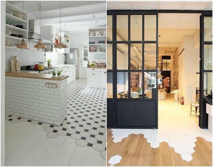 33 best Parquet Bois images on Pinterest Engineered wood floors - peindre du carrelage de sol