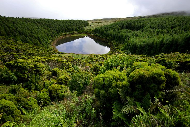 E esta lagoa, sabem o seu nome e a ilha onde fica? // And this lagoon, do you know it's name and island?