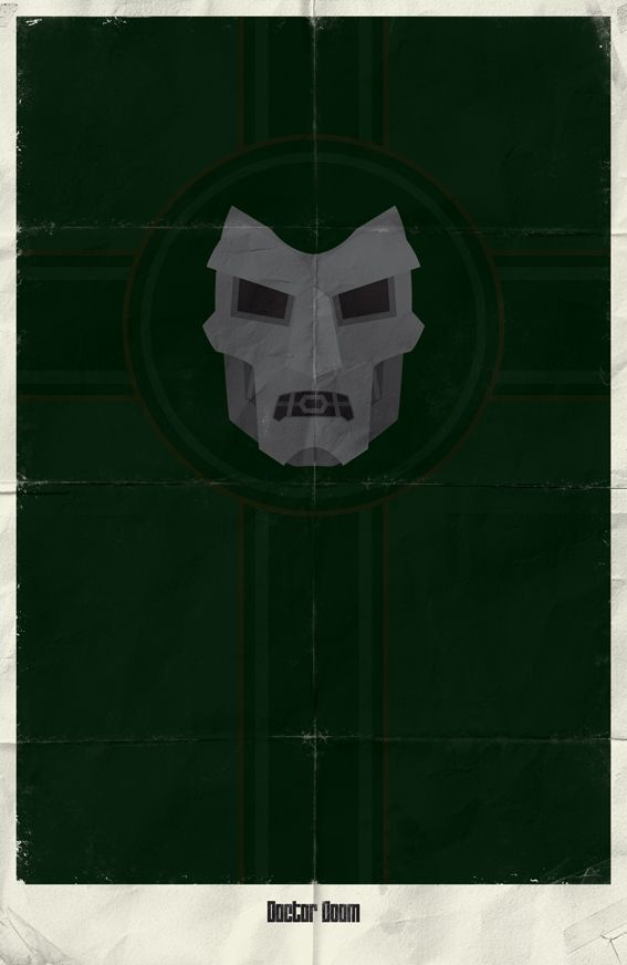 Marvel Minimalist Posters Vol.2 by Marko Manev, via Behance