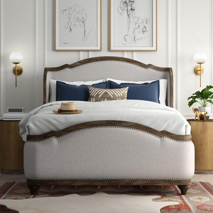 Averi Upholstered Panel Bed Upholstered Panel Bed King