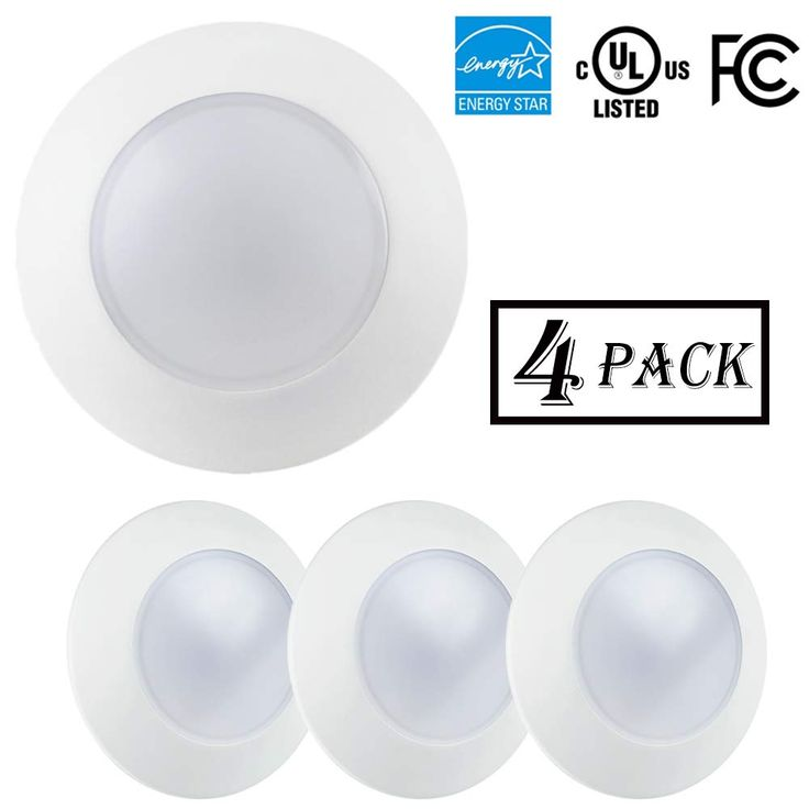 Ecoeler 4inch Dimmable Led Disk Light Flush Mount Recessed Retrofit Ceiling Lights 10 5w Warm White You Can Find Mor Dimmable Led Ceiling Lights Disk Light