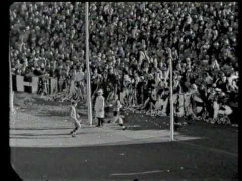 Final moments of St Kilda's 1966 VFL grand final win, Allan Jeans' first…
