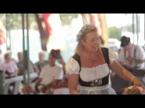 The annual Oktoberfest in Fredericksburg is the first full weekend in October.