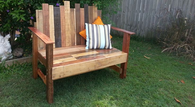 Throne Love Seat La Lucie Recycled