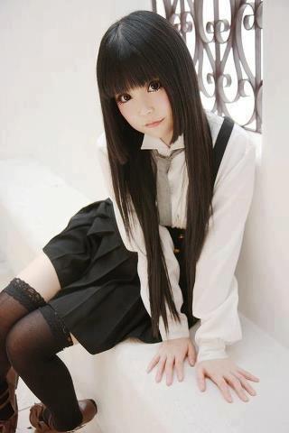 COsplay | Shirakiin Ririchiyo - Inu x Boku SS