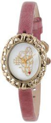 Vivienne Westwood Women's VV005CMPK Rococo Swiss Quartz Pink Leather Strap Watch