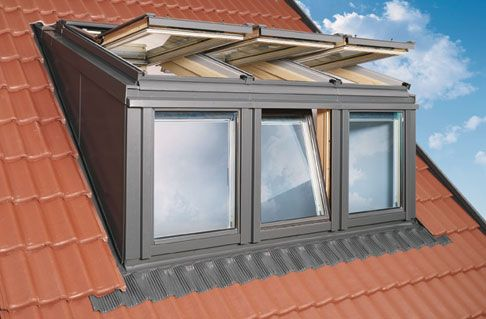 loft conversion VELUX-DOMER