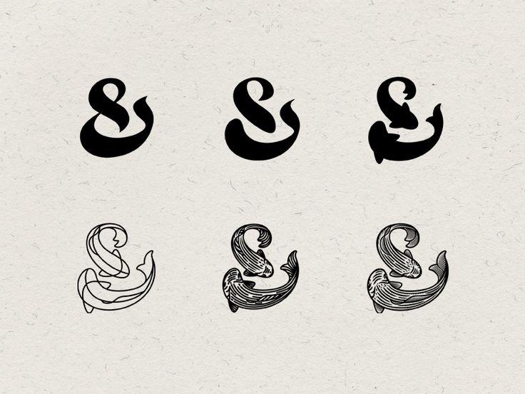 Fish restaurant logo by Andrei Zhukov | dribbble More