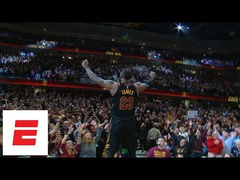 cc374b418de LeBron James calls game with buzzer-beating 3-pointer to win Game 5 of  Cavaliers vs. Pacers