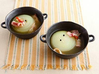 たまねぎとベーコンのスープ レシピ 講師は高城 順子さん|コトコト煮込んで、甘みとうまみを引き出します。シンプルだけど、とびっきりのおいしさ