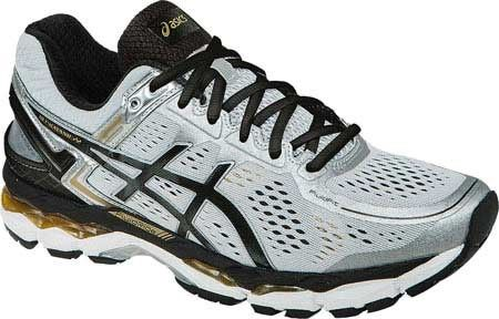 031cef0f24 Asics Men's GEL-Kayano 22 Running Shoe, Size: 6.5 D, Silver/Black ...