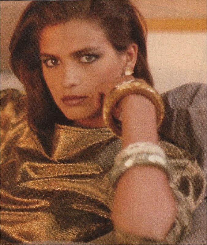 Gia Carangi, looking right into you (Arthur Elgort for Vogue, November 1980)
