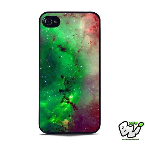 Red Green Galaxy Nebula iPhone 5 | iPhone 5S Case