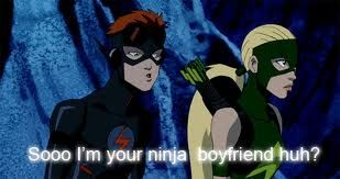 Kid Flash and Artemis moments - Young Justice