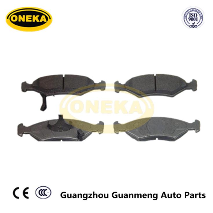ONEKA brake pad manufacturers D649 0K20A-33-23Z For SEPHIA Car Disc Front Axle Brake Pads FOR KOREA CAR AUTO PARTS
