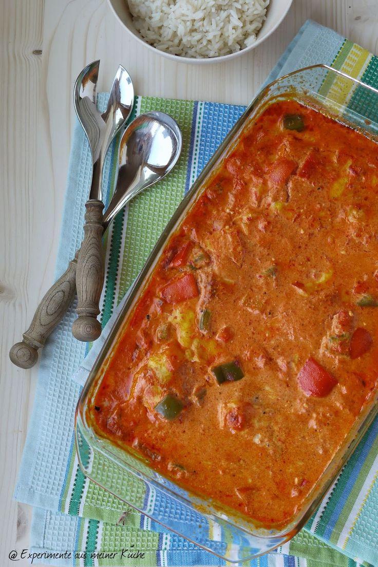 Hähnchen in Paprika-Sahne-Soße, Hähnchen, Kochen, Essen, Hauptgericht