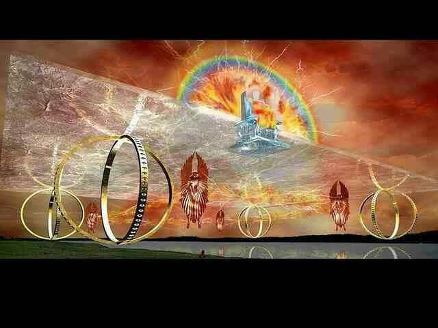Jehovah's Chariot seen in vision by Daniel. Depicting the speed at which Jehovah and angels move in any direction to assist those calling on God from a humble and sincere ❤️ heart!