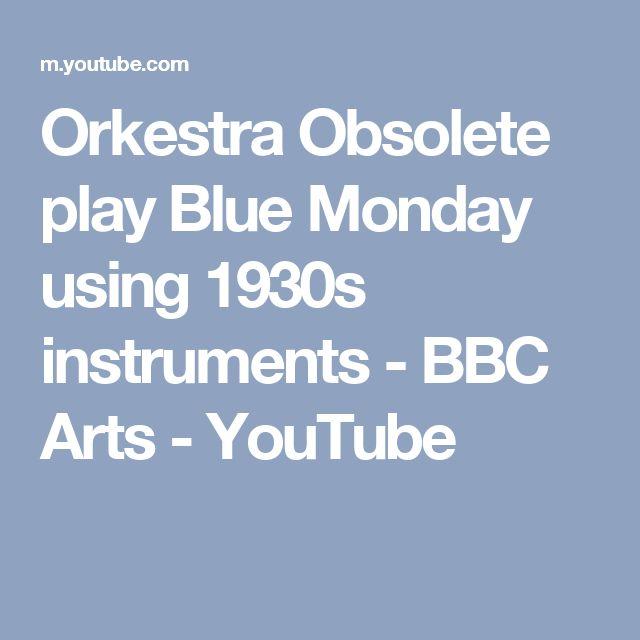 Orkestra Obsolete play Blue Monday using 1930s instruments - BBC Arts - YouTube