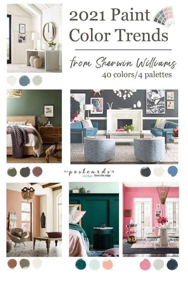 Paint Color Trends From Sherwin Williams 2021 Trending Paint Colors Family Room Paint Colors Family Room Paint Living room color trends 2021