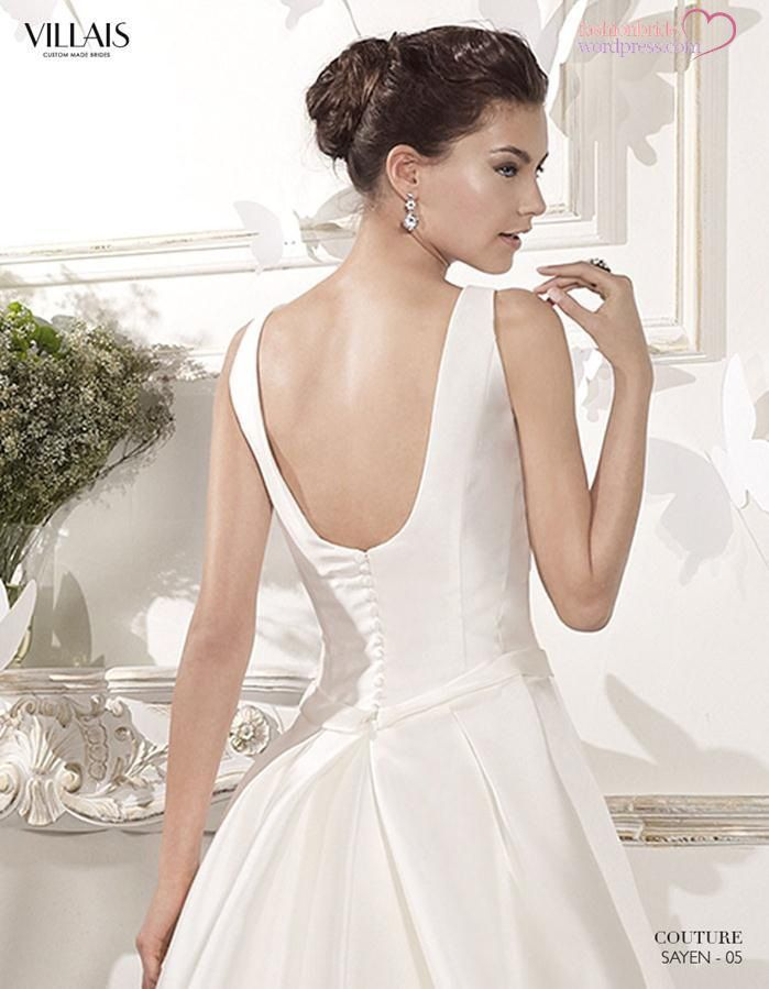 Villais Couture Spring 2015 Bridal Collection