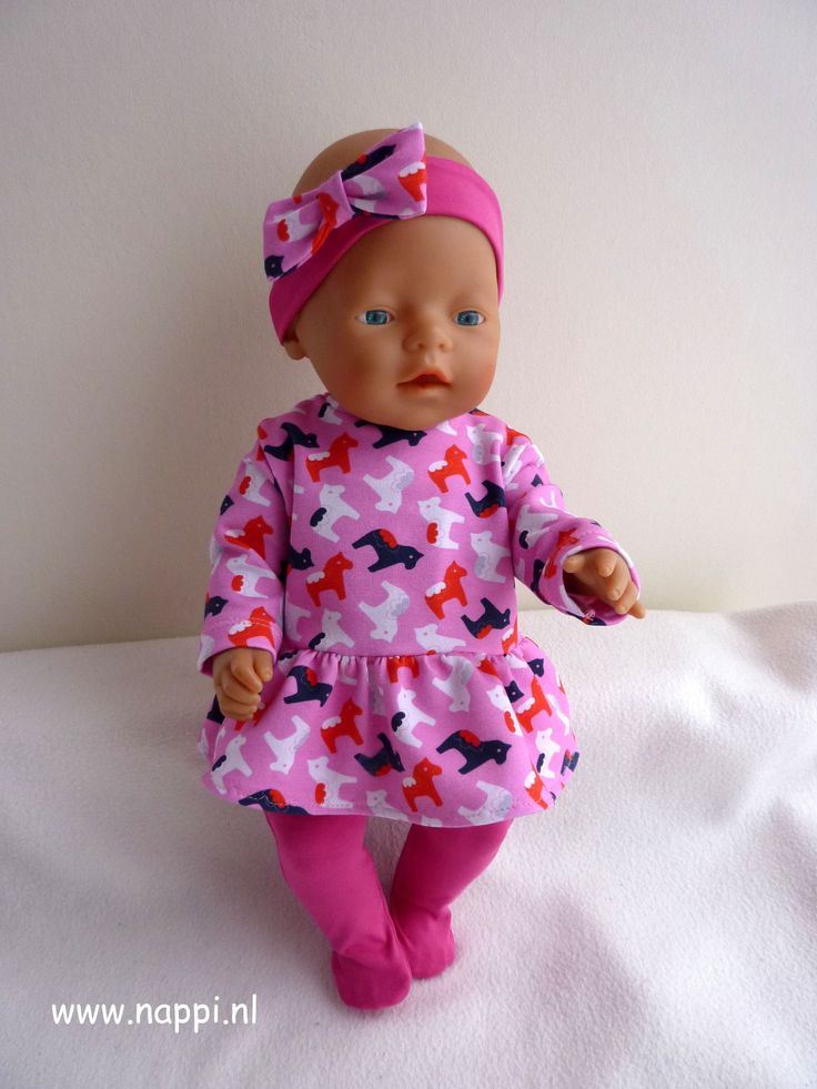 Winterkleding / Baby Born 43 cm   Nappi.nl eigen ontwerp